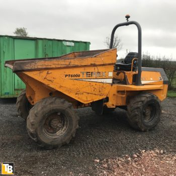 Taylor and Braithwaite- Terex PT 6000 Dumper