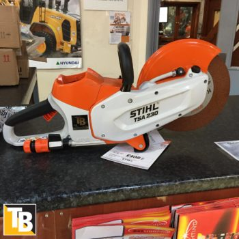 Taylor and Braithwaite - Stihl TSA 230 Battery Cut Off Saw