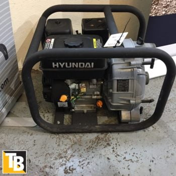 Taylor and Braithwaite- Hyundai Waste Water Pump