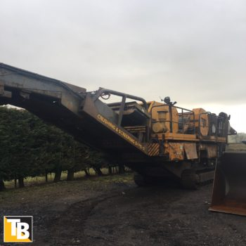 Taylor and Braithwaite - Parker RT16 Jaw Crusher