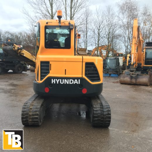 Taylor and Braithwaite - Hyundai R60CR-9A