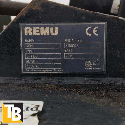 Taylor and Braithwaite - Remu EP4150 Screening Bucket