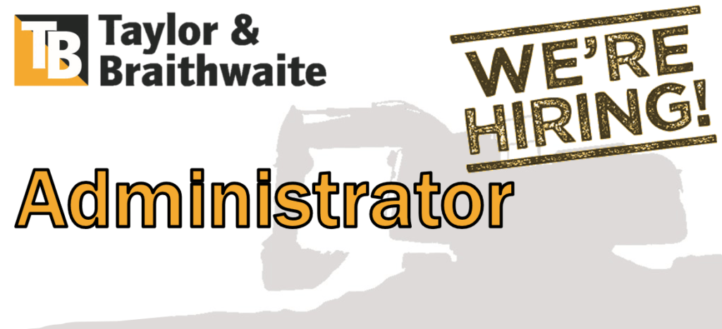 Taylor and Braithwaite - Job Vacancy